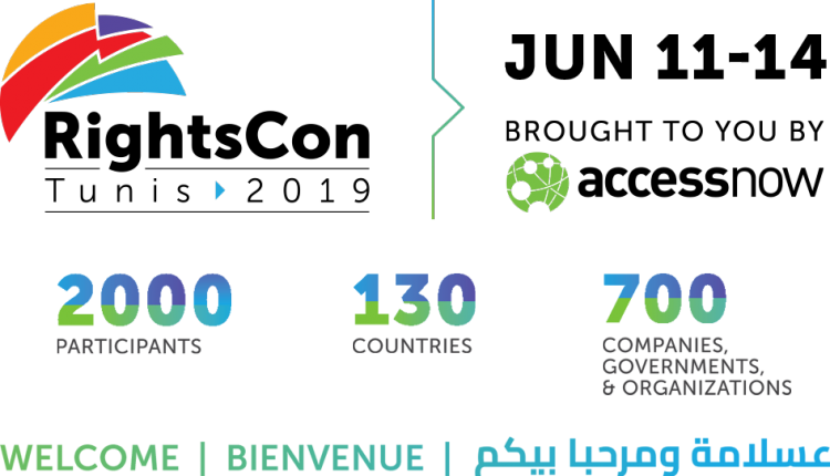rightscon Tunis