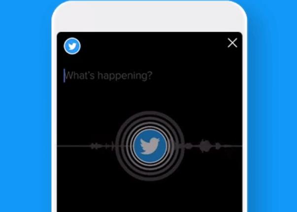 twitter live audio