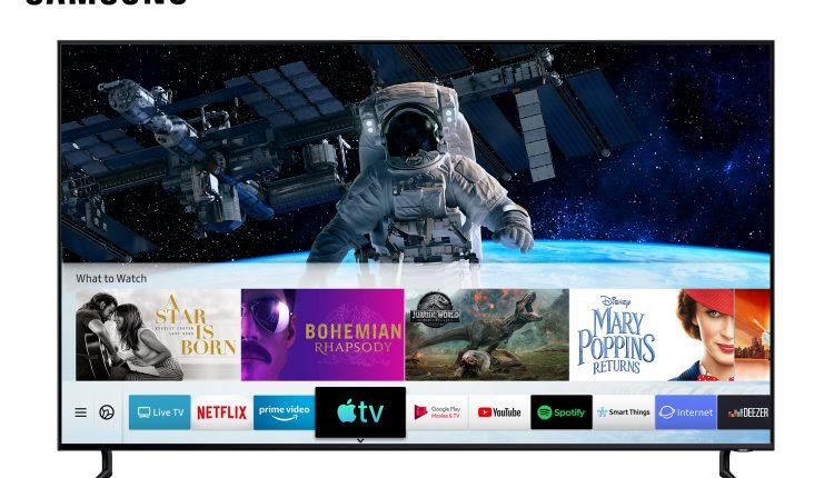 Apple TV et AirPlay 2 samsung TV
